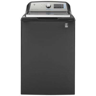 5.2 cu. ft. High-Efficiency Diamond Gray Top Load Washing Machine with Smart Dispense and Sanitize with Oxi, ENERGY STAR