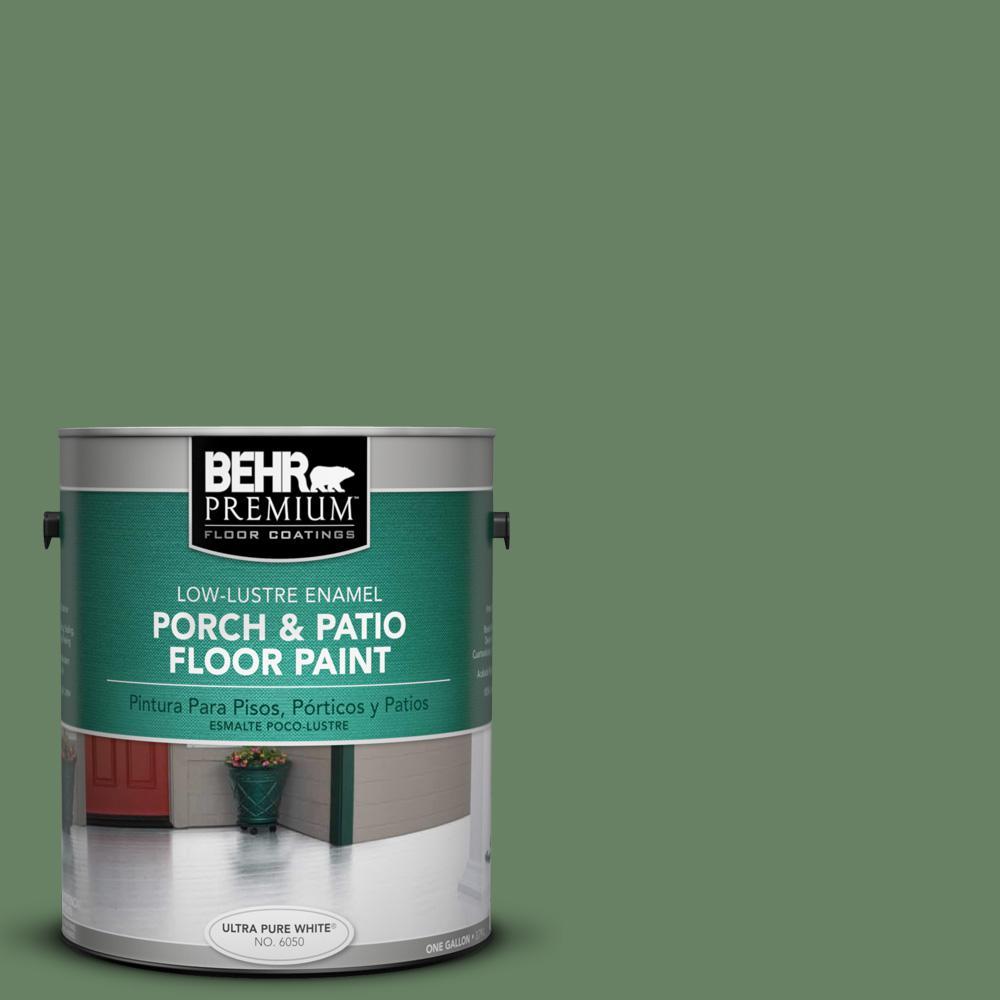 1 gal. #S390-6 Cliffside Park Low-Lustre Porch and Patio Floor Paint
