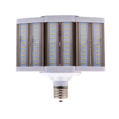 400-Watt Equivalent 110-Watt Corn Cob SHOEBOX LED High Lumen Area Light Bulb Bypass Mog 120-277V Daylight 5000K 84105