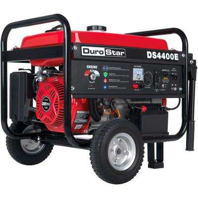 3500-Watt Gasoline Powered Electric Start Portable Generator with Wheel Kit