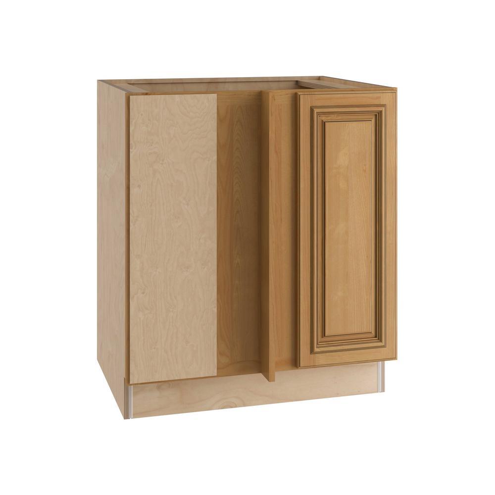 Clevedon Assembled 30x34.5x24 in. Single Door Hinge Left Base Kitchen Blind