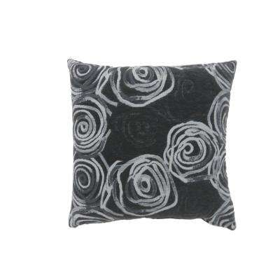 Mindy 22 in. Contemporary Throw Pillow in Multicolor (Pack of 2)