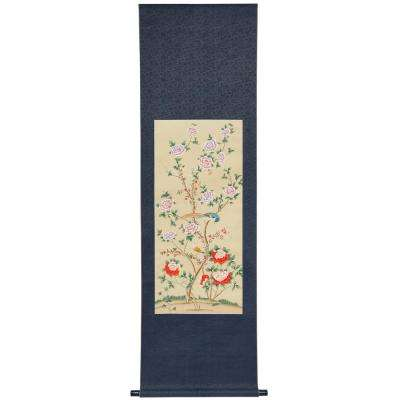 "64 in. x 23 in. ""Daylight Blossom Scroll"" Wall Art"