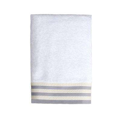 Gen X 24 in. W x 48 in. L Bath Towel in White