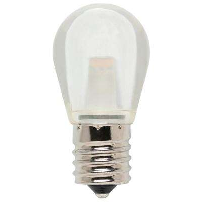 10-Watt Equivalent S11 LED Light Bulb Soft White Light