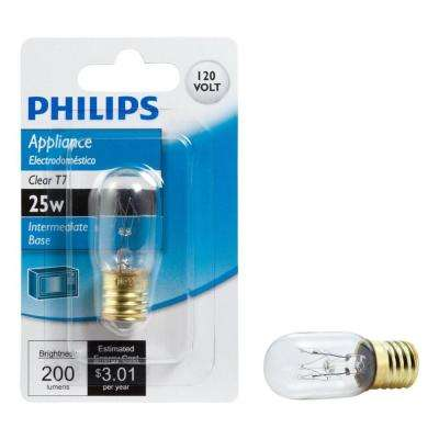 25-Watt T7 Incandescent Microwave Light Bulb