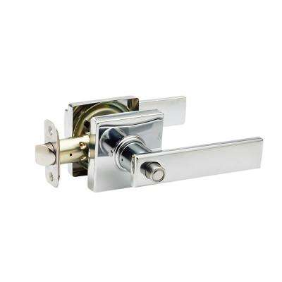 Craftsman Remi Polished Stainless Bed/Bath Door Lever