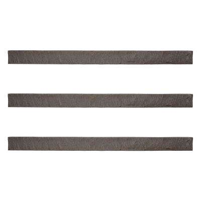 Stacked Stone 3.5 in. x 48 in. Stratford Faux Trim (3-Pack)