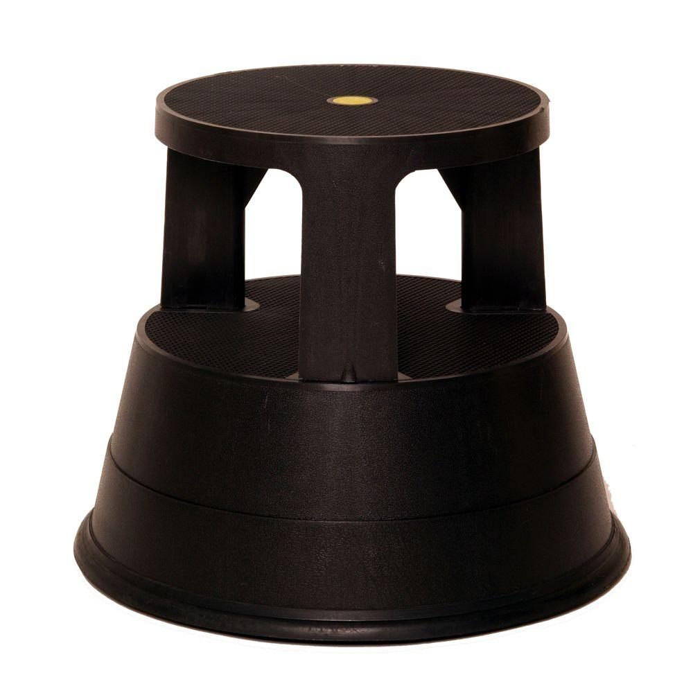 2-Step Plastic Step 300 lb. Load Capacity Type 1A Duty Rating  sc 1 st  The Home Depot & Type 1A - 300 lbs. - Step Stools - Ladders - The Home Depot islam-shia.org