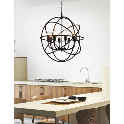 Arza 8-Light Brown Chandelier