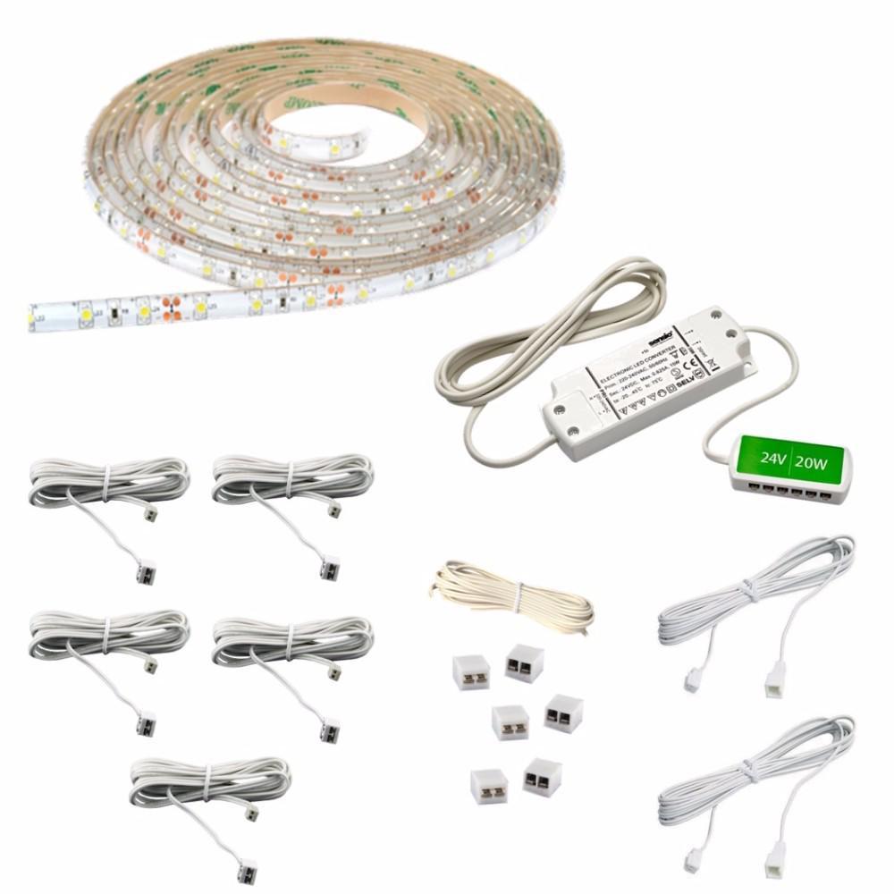 16.4 ft. LED Cool White Flexible Strip Light Kit