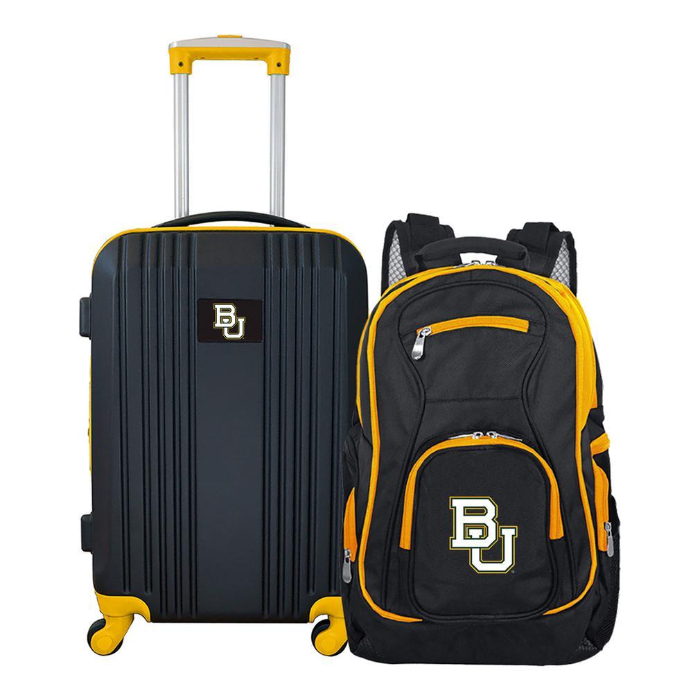 NCAA Baylor Bears 2-Piece Set Luggage and Backpack