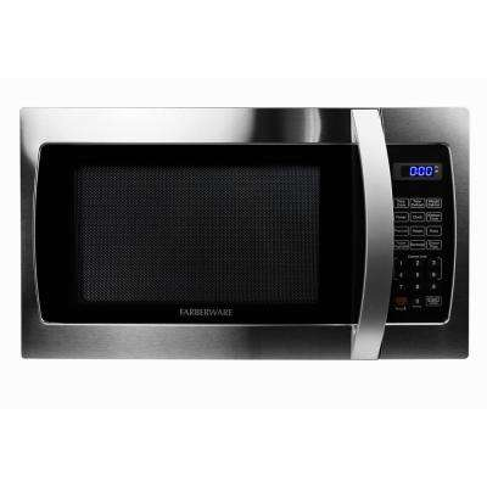Professional 1.3 cu. Ft. 1000-Watt Countertop Microwave Oven in Stainless Steel