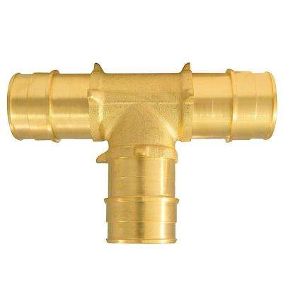 1 in. Brass PEX-A Expansion Barb Tee