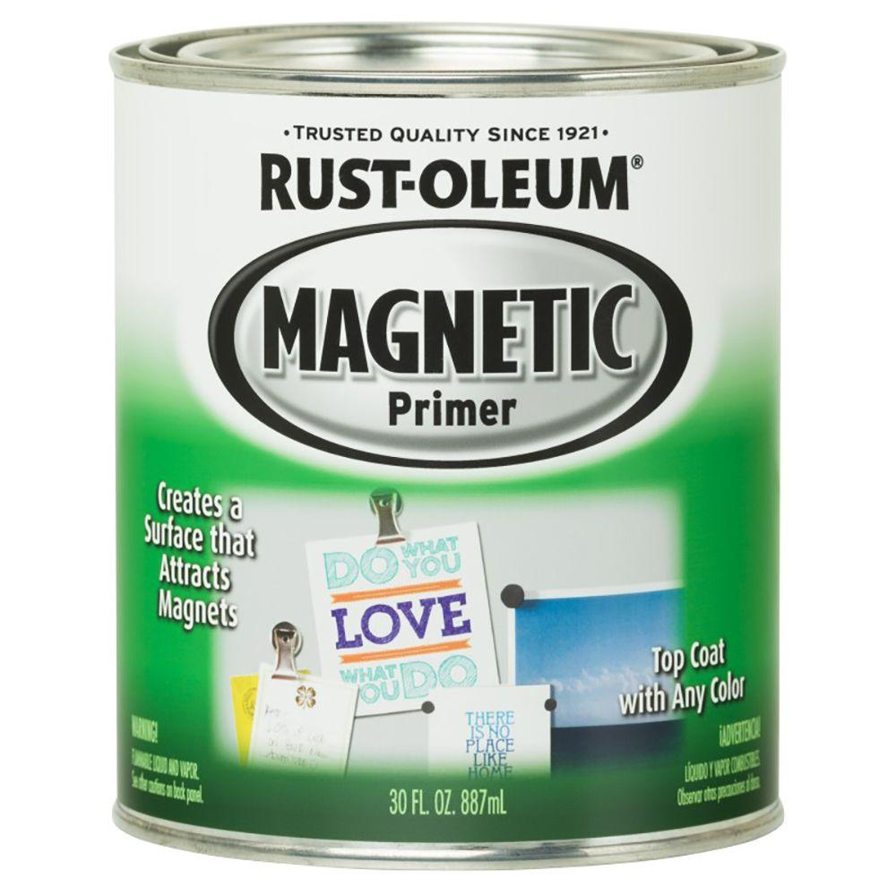 Home depot glow in the dark paint - Rust Oleum Specialty 30 Oz Magnetic Primer Kit