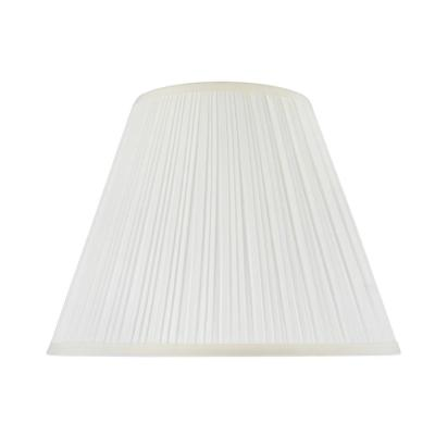 14 in. x 11 in. Off White Pleated Empire Lamp Shade