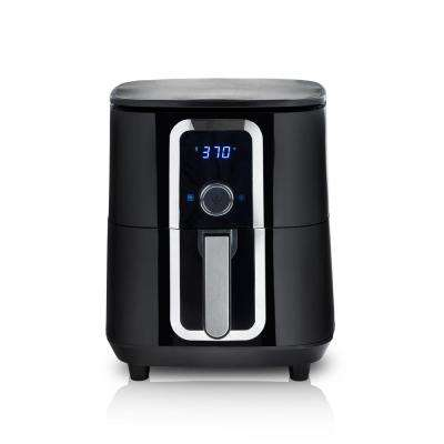 7 Qt. Ceramic Family-Size Air Fryer with Accessories and Full Color Recipe Book