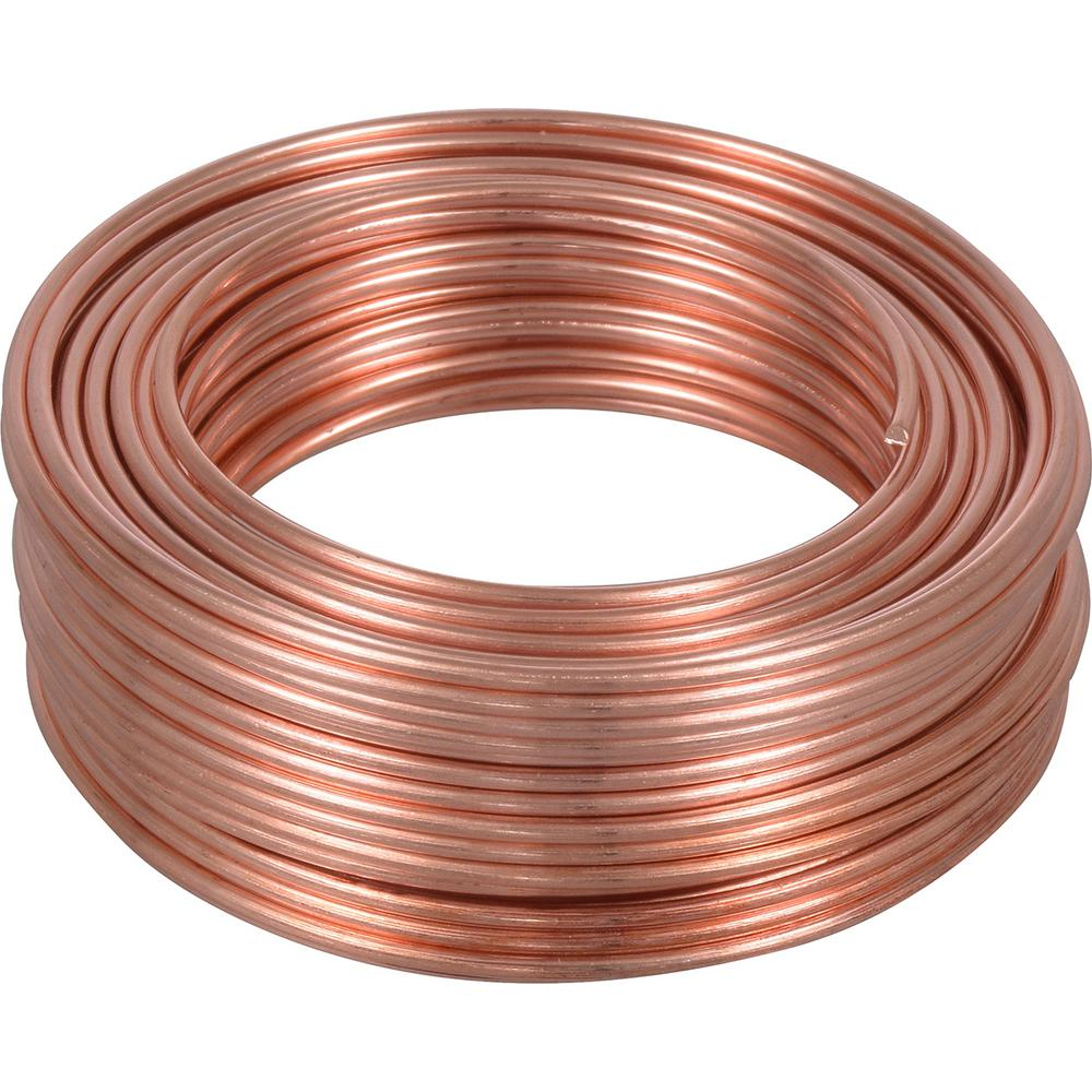 70 Ft. Coil // 5 Oz 18 Ga Copper Jewelry /& Craft Wire HALF HARD  Pure Copper