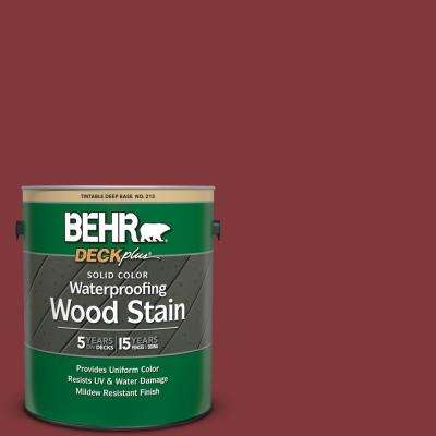 Verbazingwekkend Deco Red - Exterior Stain & Sealers - Paint - The Home Depot JO-89