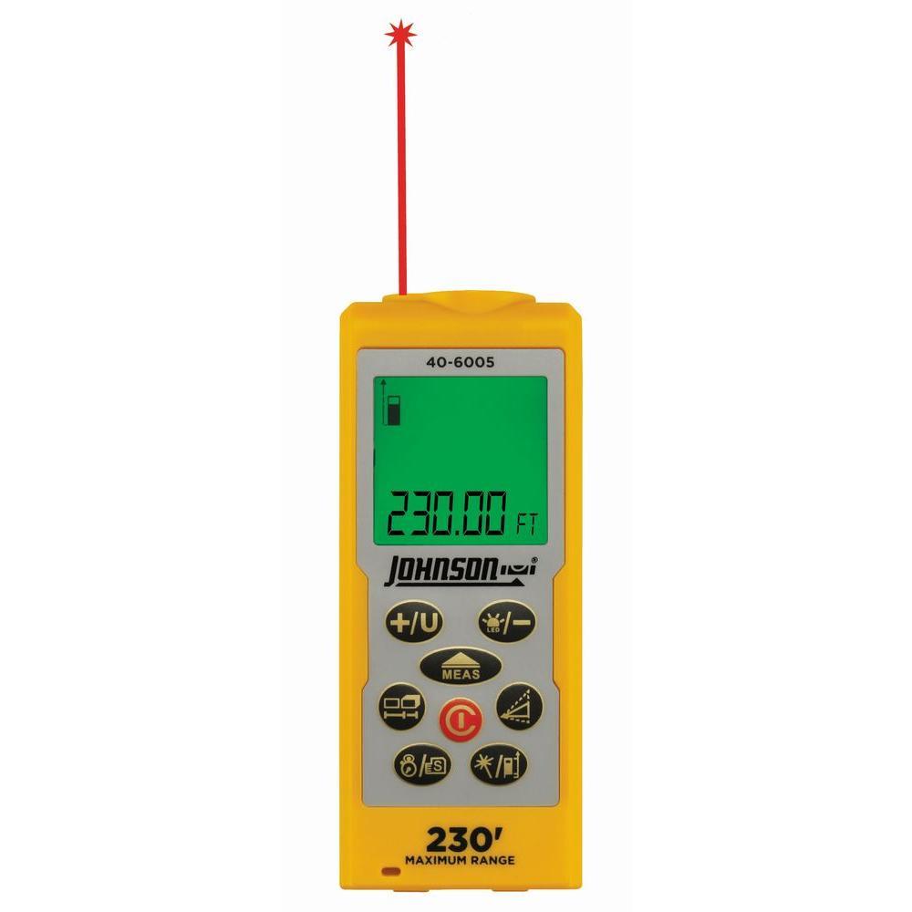 Johnson 230 ft. Laser Distance Measure