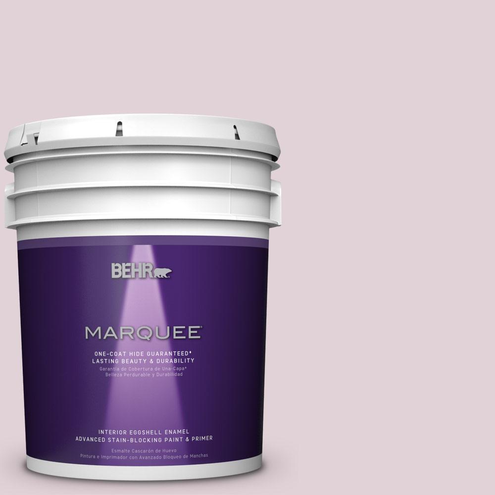 BEHR MARQUEE 5-gal. #T15-7 Secret Blush Eggshell Enamel Interior Paint