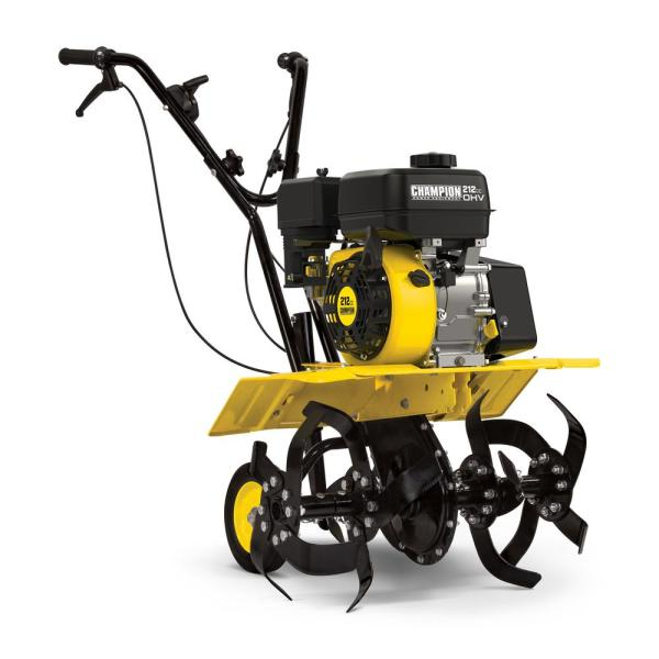 22 in. 212 cc 4-Stroke Gas Dual Rotating Front Tine Tiller with Storable Transport Wheels