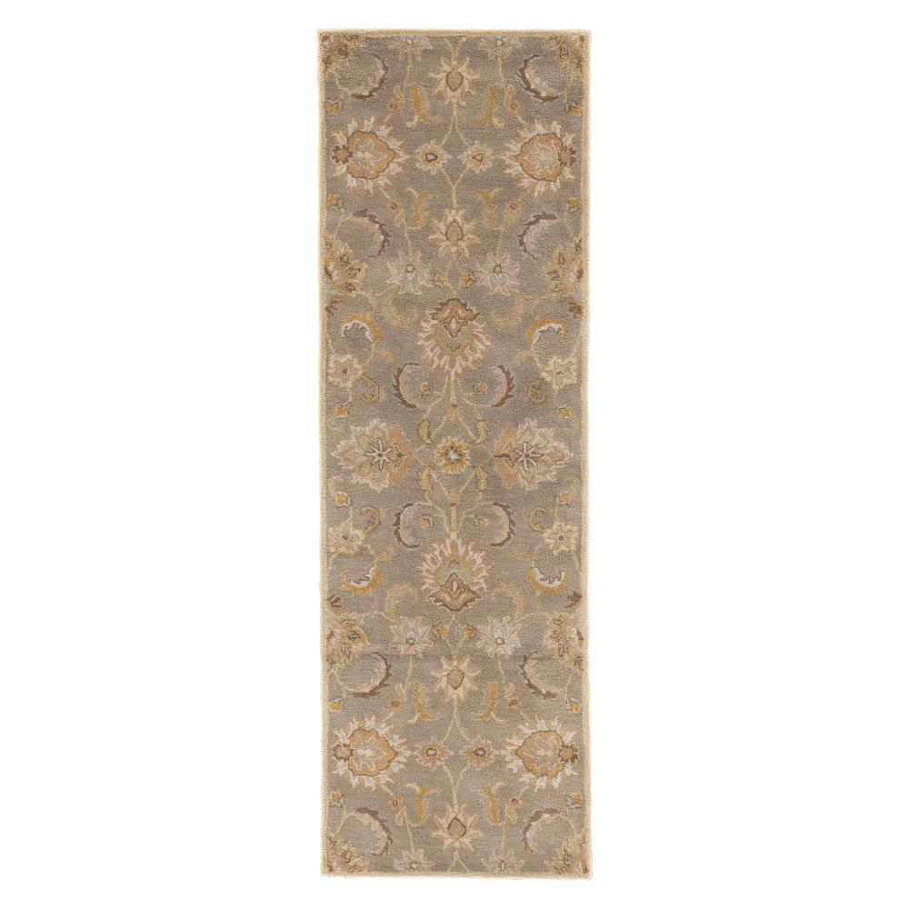 Oriental Weavers Area Rugs The Home Depot Martha Ivory Top Leux Studio L Flint Gray 3 Ft X 12 Runner Rug