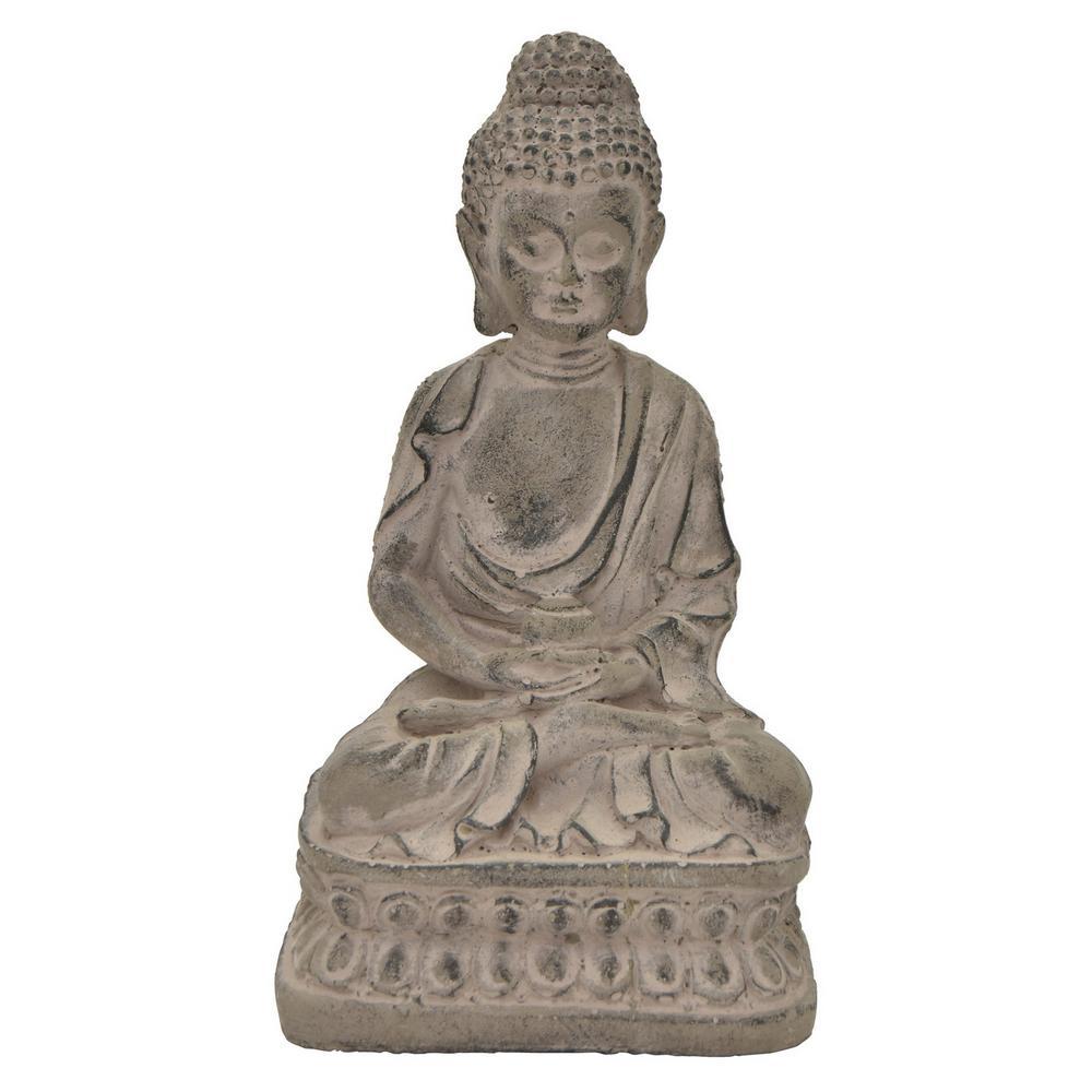 8.5 in. Buddha Figurine