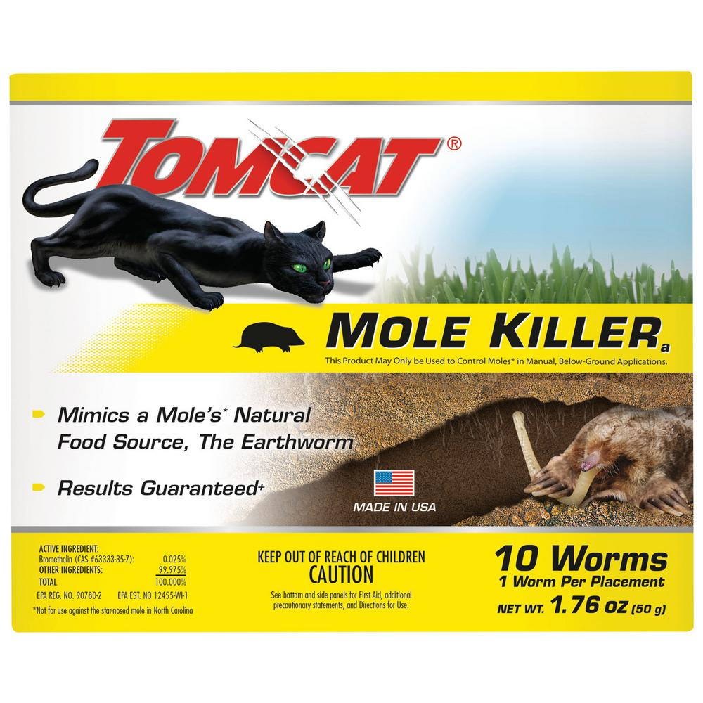 Tomcat Mole Killer Worm Bait (10-Pack)