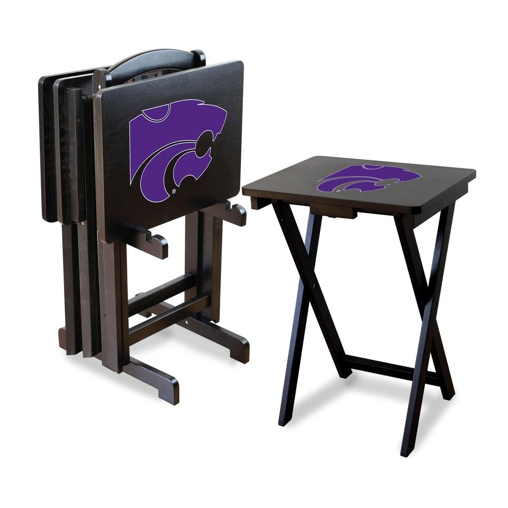 Imperial Kansas State University Tv Trays With Stand