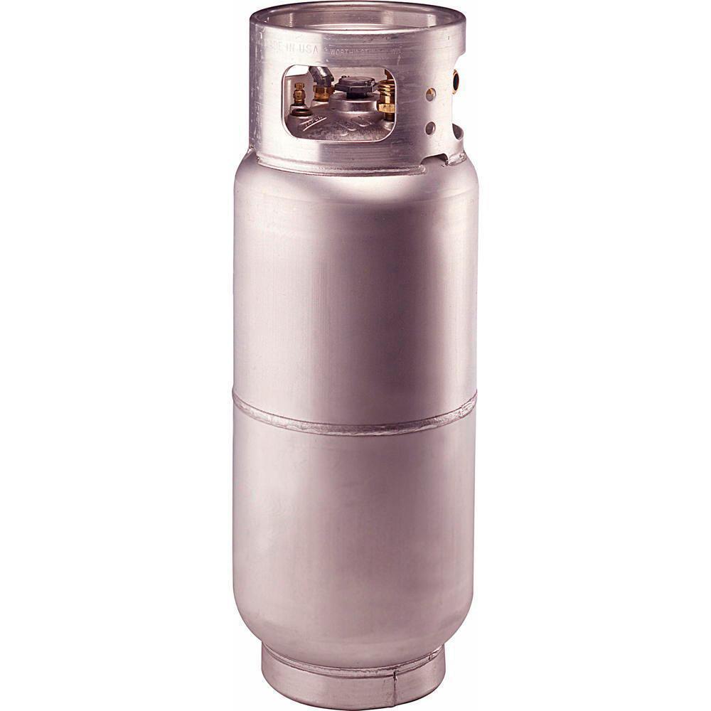 33.5 lbs. Empty Aluminum Propane Forklift Cylinder