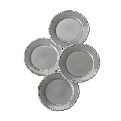 Savannah 4 Piece Grey Salad Plate Set