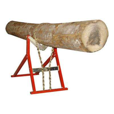 661 lb. Capacity Quick Fire Saw Horse, Log Holder for Chainsaws and Log Splitters