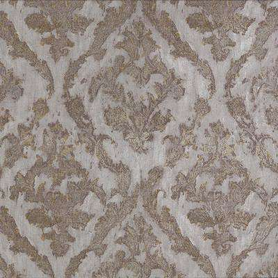 Brewster Damask Bronze Paper Strippable Roll Covers 57 8 Sq Ft 2927 20102 The Home Depot