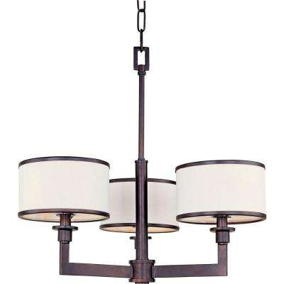 Nexus 3-Light Oil-Rubbed Bronze Mini Chandelier