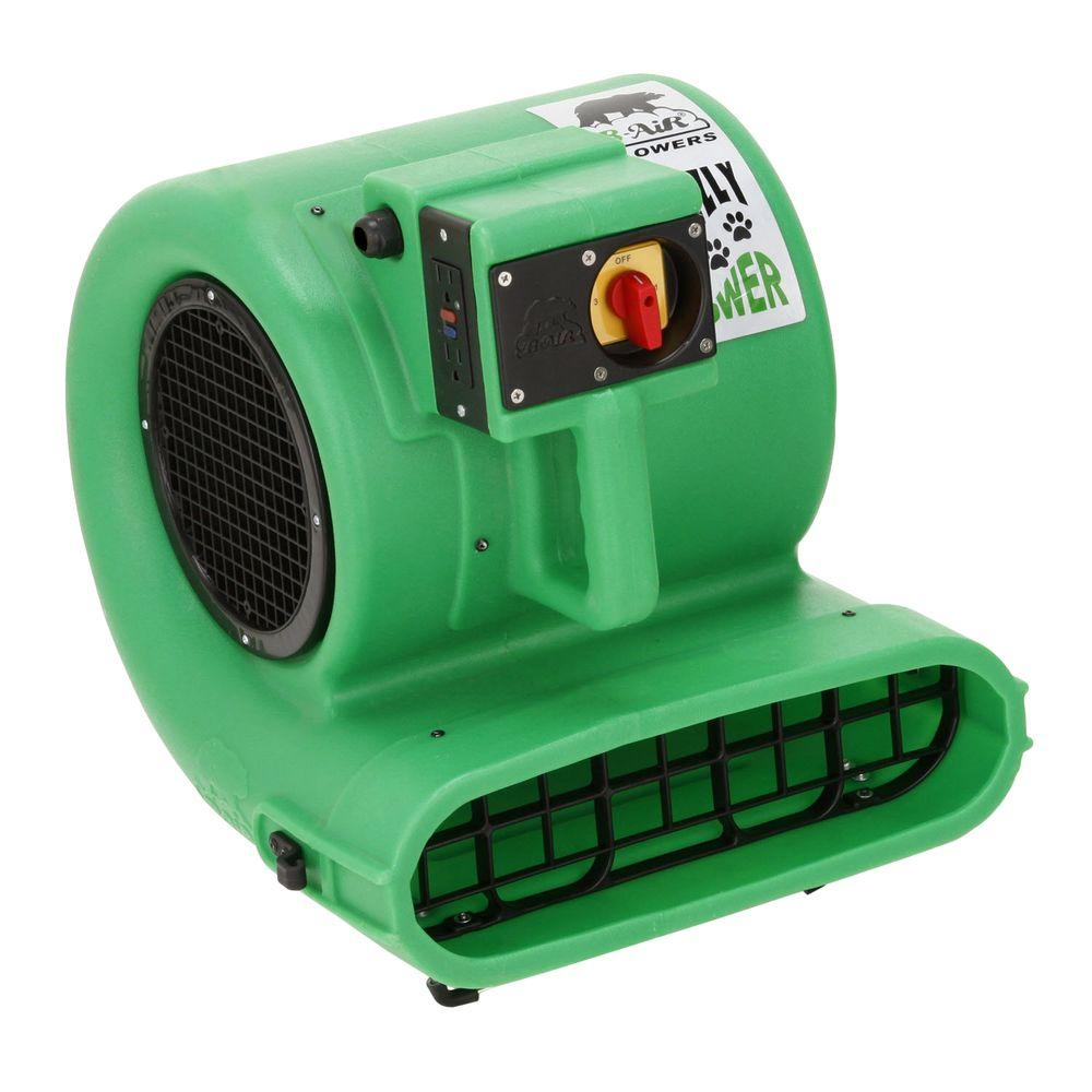 B-Air Low Amp 2700 CFM Daisy Chainable Air Mover-Floor Dryer-Carpet Dryer-Safety Certified