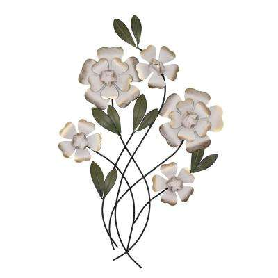 Sheva Flower Metal Wall Art