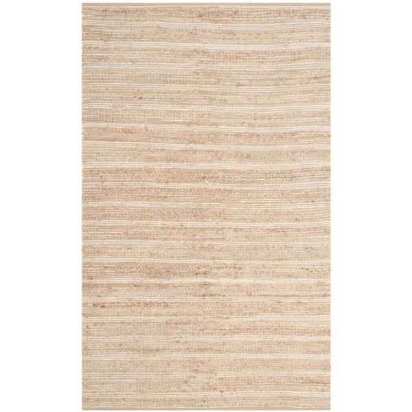 Cape Cod Natural/Ivory 4 ft. x 6 ft. Area Rug