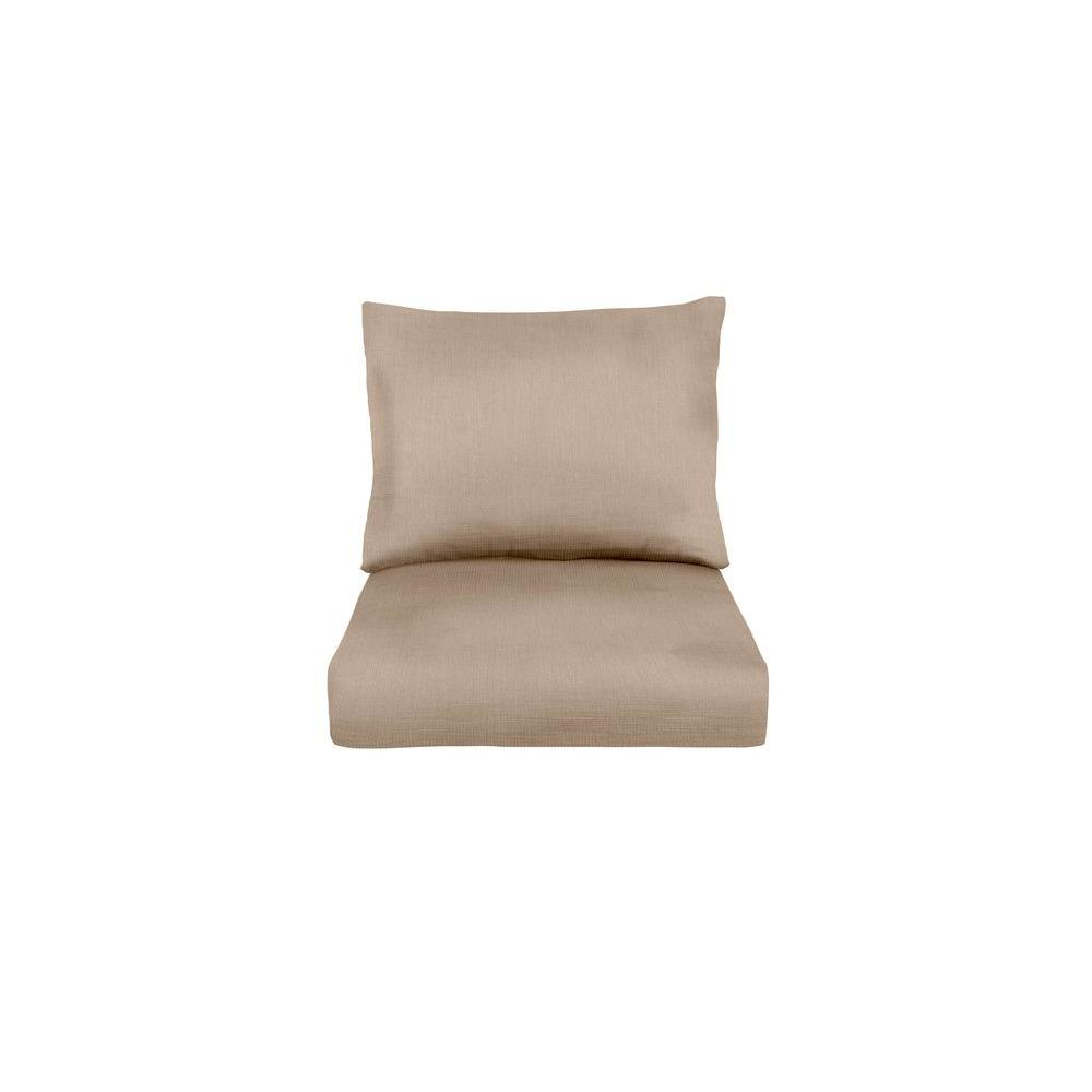 Brown Jordan Marquis Replacement Outdoor Lounge Chair Cushion In Sparrow