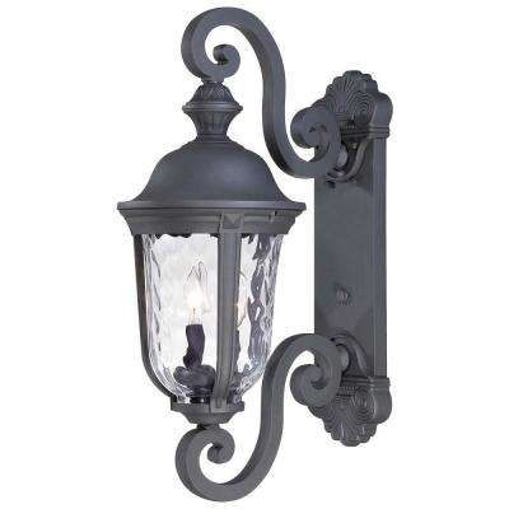 Ardmore 2-Light Black Outdoor Wall Mount Lantern