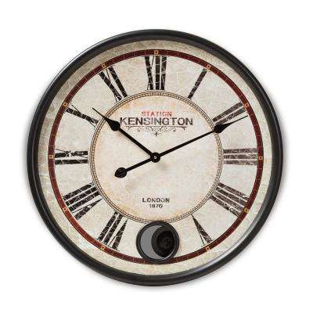 Didier Matte Black Wall Clock