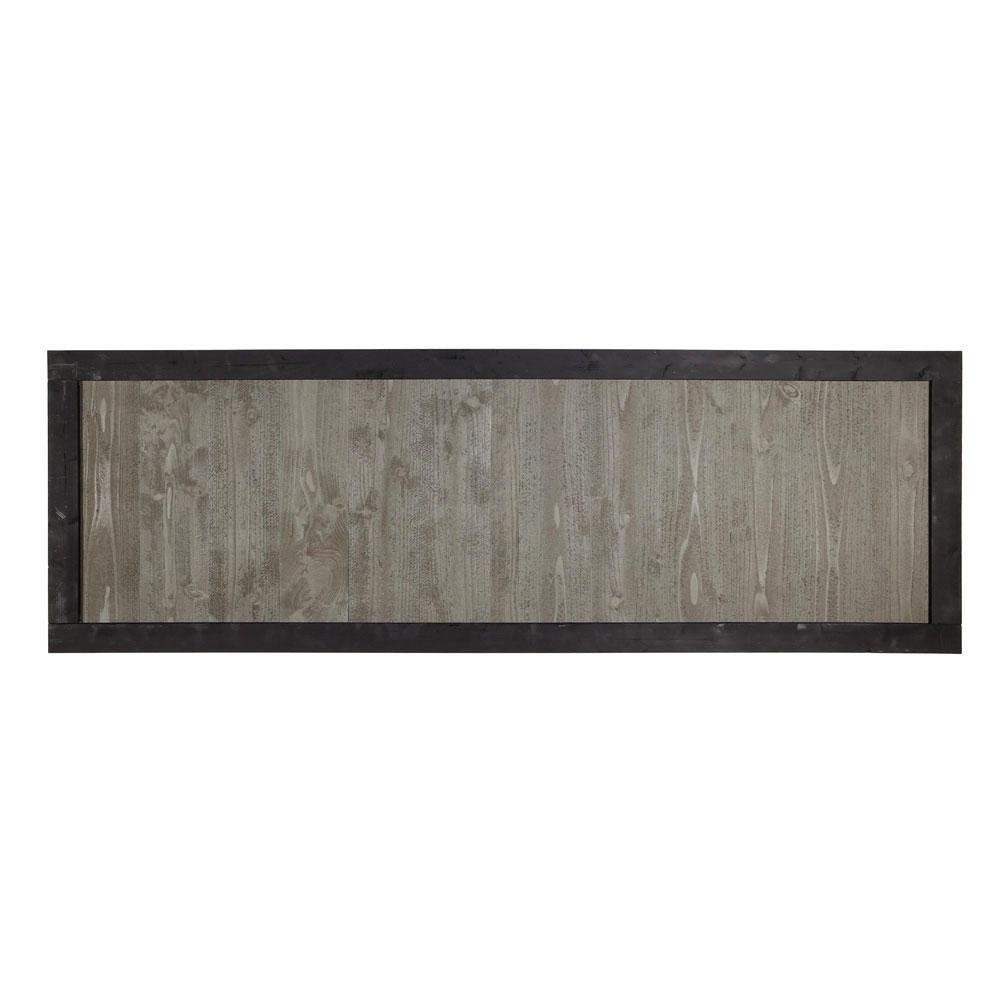 Outdoor Essentials 2 ft. x 6 ft. Gray Cedar Canyon Fence Panel with ...