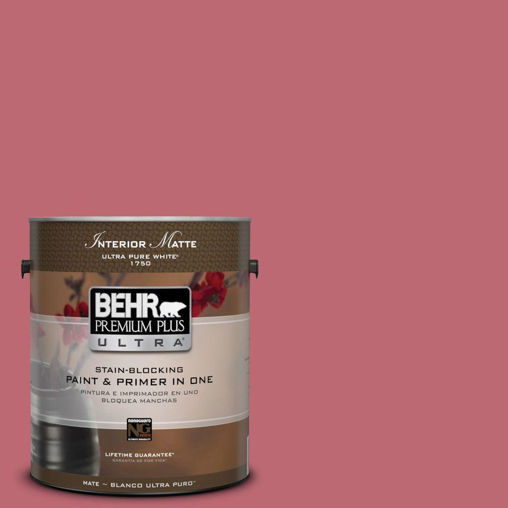 1 gal. #M140-5 Cherry Fizz Matte Interior Paint
