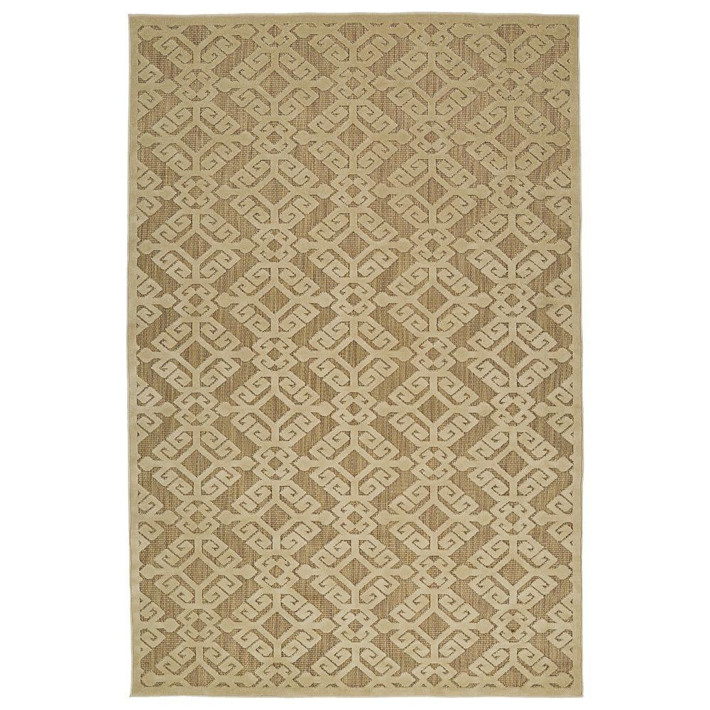 Five Seasons Khaki 7 ft. 10 in. x 10 ft. 8
