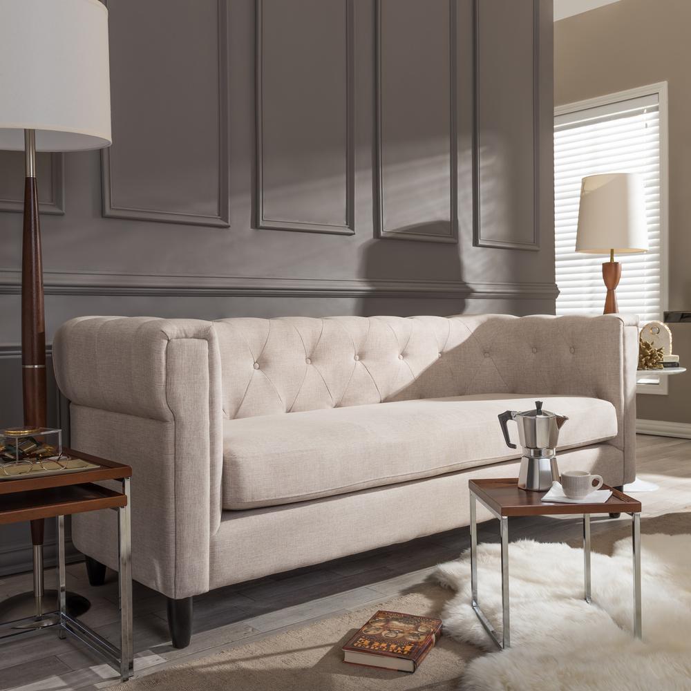 Beige Sofas beige sofas loveseats living room furniture the home depot