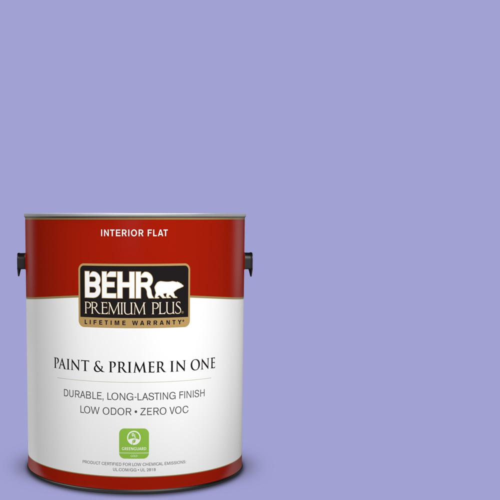 BEHR Premium Plus 1-gal. #P550-4 Water Hyacinth Flat Interior Paint