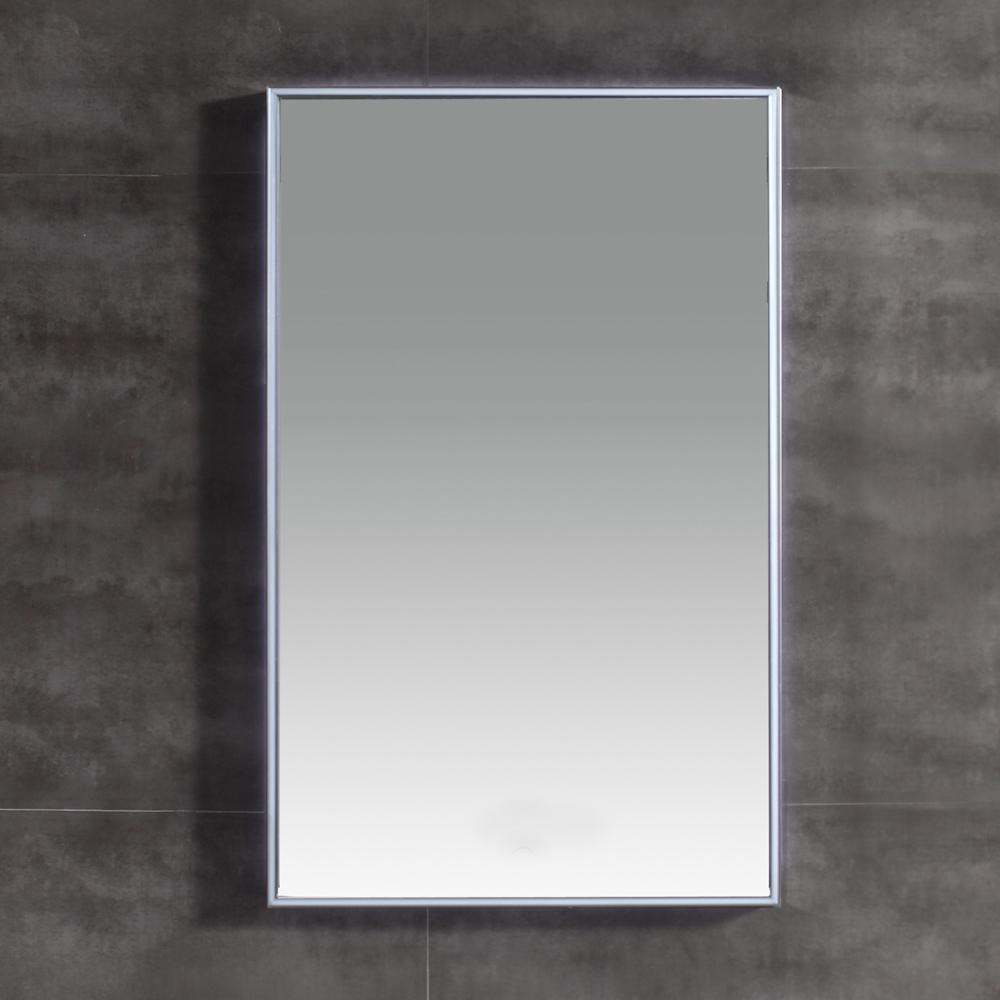 OVE Decors Titan 31 in. L x 20 in. W Single Wall LED Mirror in Chrome