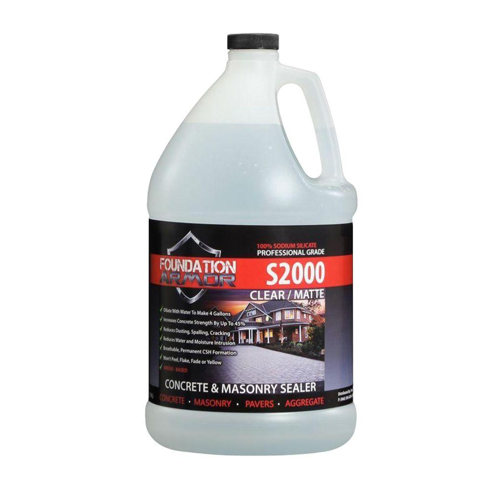 Foundation Armor 1 gal. Concentrated Sodium Silicate Concrete Sealer, Hardener and Densifier