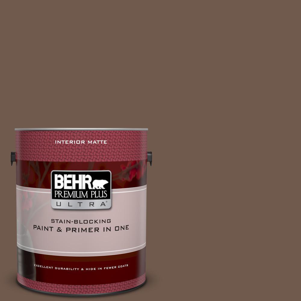 Ppf 52 Rich Brown Matte Interior Paint