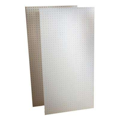 DuraBoard 2) 24 in. x 48 in. x 1/4 in. DuraBoards, 79 Hooks and 4 Bins